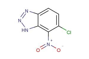 6-chloro-7-nitro-1H-benzo[d][1,2,3]triazole