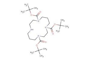 tri-tert-butyl 1,4,8,11-tetraazacyclotetradecane-1,4,8-tricarboxylate