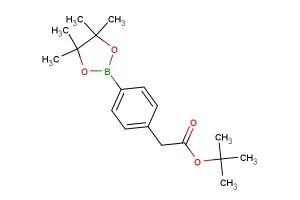 tert-butyl 2-(4-(4,4,5,5-tetramethyl-1,3,2-dioxaborolan-2-yl)phenyl)acetate