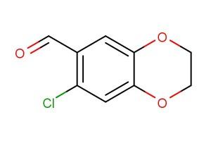 7-chloro-2,3-dihydrobenzo[b][1,4]dioxine-6-carbaldehyde