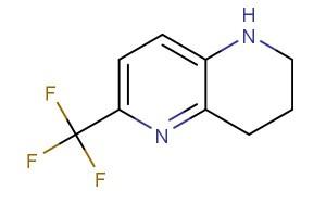 6-(trifluoromethyl)-1,2,3,4-tetrahydro-1,5-naphthyridine