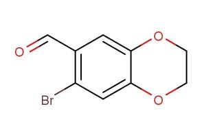 7-bromo-2,3-dihydrobenzo[b][1,4]dioxine-6-carbaldehyde