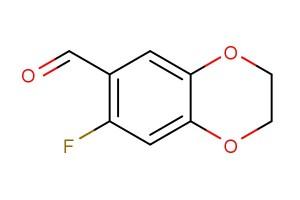 7-fluoro-2,3-dihydrobenzo[b][1,4]dioxine-6-carbaldehyde