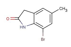 7-bromo-5-methylindolin-2-one