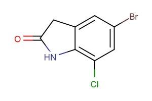 5-bromo-7-chloroindolin-2-one