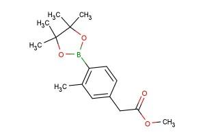 methyl 2-(3-methyl-4-(4,4,5,5-tetramethyl-1,3,2-dioxaborolan-2-yl)phenyl)acetate