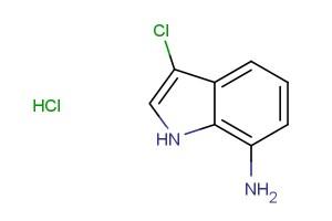 3-chloro-1H-indol-7-amine hydrochloride
