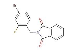2-(4-bromo-2-fluorobenzyl)isoindoline-1,3-dione
