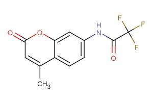 2,2,2-trifluoro-N-(4-methyl-2-oxo-2H-chromen-7-yl)acetamide