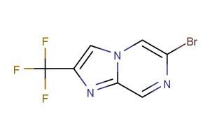 6-bromo-2-(trifluoromethyl)imidazo[1,2-a]pyrazine