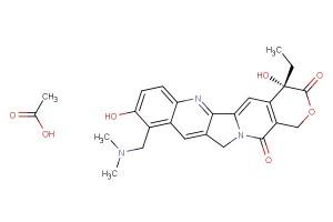 Topotecan acetate