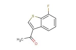 1-(7-fluorobenzo[b]thiophen-3-yl)ethan-1-one