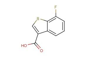 7-fluorobenzo[b]thiophene-3-carboxylic acid