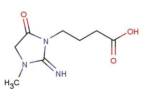 4-(2-imino-3-methyl-5-oxoimidazolidin-1-yl)butanoic acid