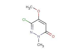 6-chloro-5-methoxy-2-methylpyridazin-3(2H)-one