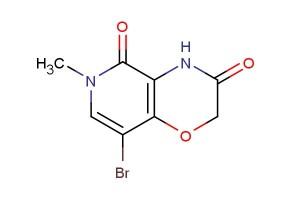 8-bromo-6-methyl-4,6-dihydro-2H-pyrido[4,3-b][1,4]oxazine-3,5-dione
