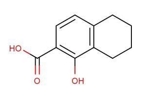 1-hydroxy-5,6,7,8-tetrahydronaphthalene-2-carboxylic acid