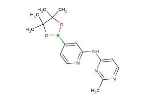 2-methyl-N-(4-(4,4,5,5-tetramethyl-1,3,2-dioxaborolan-2-yl)pyridin-2-yl)pyrimidin-4-amine