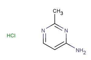 2-methylpyrimidin-4-amine hydrochloride