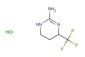 4-(trifluoromethyl)-1,4,5,6-tetrahydropyrimidin-2-amine hydrochloride