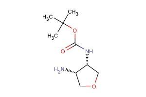 cis tert-butyl ((3S,4R)-4-aminotetrahydrofuran-3-yl)carbamate