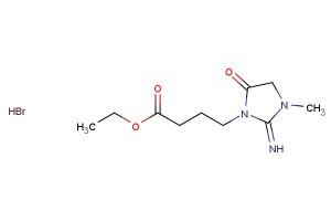ethyl 4-(2-imino-3-methyl-5-oxoimidazolidin-1-yl)butanoate hydrobromide