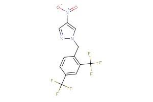 1-(2,4-bis(trifluoromethyl)benzyl)-4-nitro-1H-pyrazole