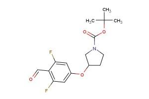 tert-butyl 3-(3,5-difluoro-4-formylphenoxy)pyrrolidine-1-carboxylate