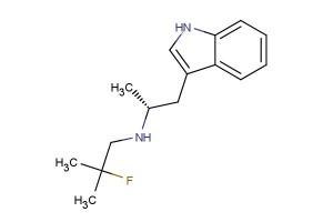 (R)-N-(1-(1H-indol-3-yl)propan-2-yl)-2-fluoro-2-methylpropan-1-amine