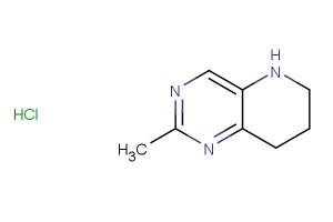 2-methyl-5,6,7,8-tetrahydropyrido[3,2-d]pyrimidine hydrochloride