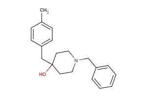 1-benzyl-4-(4-methylbenzyl)piperidin-4-ol