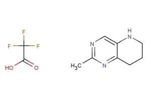 2-methyl-5,6,7,8-tetrahydropyrido[3,2-d]pyrimidine 2,2,2-trifluoroacetate