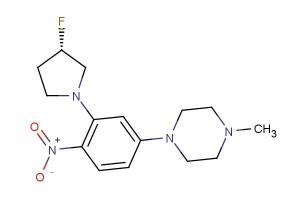 (S)-1-(3-(3-fluoropyrrolidin-1-yl)-4-nitrophenyl)-4-methylpiperazine