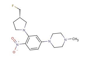 (S)-1-(3-(3-(fluoromethyl)pyrrolidin-1-yl)-4-nitrophenyl)-4-methylpiperazine