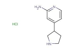 4-(pyrrolidin-3-yl)pyridin-2-amine hydrochloride