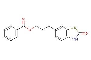 3-(2-oxo-2,3-dihydrobenzo[d]thiazol-6-yl)propyl benzoate