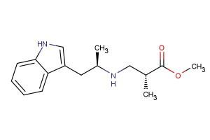 methyl (R)-3-(((R)-1-(1H-indol-3-yl)propan-2-yl)amino)-2-methylpropanoate