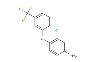 3-chloro-4-(3-(trifluoromethyl)phenoxy)aniline