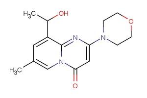 9-(1-hydroxyethyl)-7-methyl-2-morpholino-4H-pyrido[1,2-a]pyrimidin-4-one