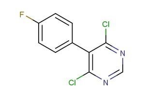 4,6-dichloro-5-(4-fluorophenyl)pyrimidine