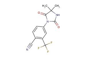 4-(4,4-dimethyl-2,5-dioxoimidazolidin-1-yl)-2-(trifluoromethyl)benzonitrile