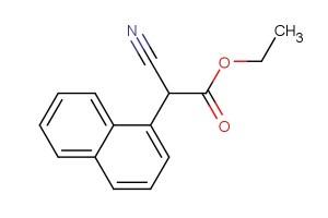 ethyl 2-cyano-2-(naphthalen-1-yl)acetate
