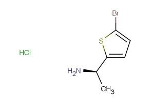 (1R)-1-(5-bromothiophen-2-yl)ethan-1-amine hydrochloride