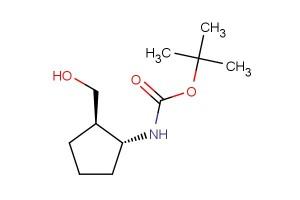 tert-butyl ((1R,2R)-2-(hydroxymethyl)cyclopentyl)carbamate