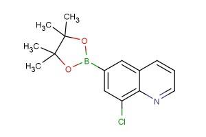8-chloro-6-(4,4,5,5-tetramethyl-1,3,2-dioxaborolan-2-yl)quinoline