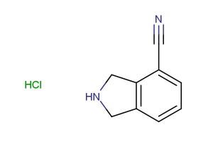 isoindoline-4-carbonitrile hydrochloride