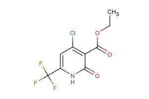 ethyl 4-chloro-2-oxo-6-(trifluoromethyl)-1,2-dihydropyridine-3-carboxylate