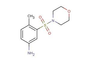 4-methyl-3-(morpholinosulfonyl)aniline