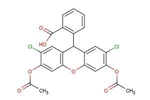 2-(3,6-diacetoxy-2,7-dichloro-9H-xanthen-9-yl)benzoic acid