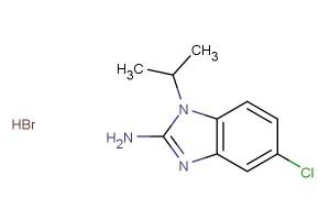 5-chloro-1-isopropyl-1H-benzo[d]imidazol-2-amine hydrobromide